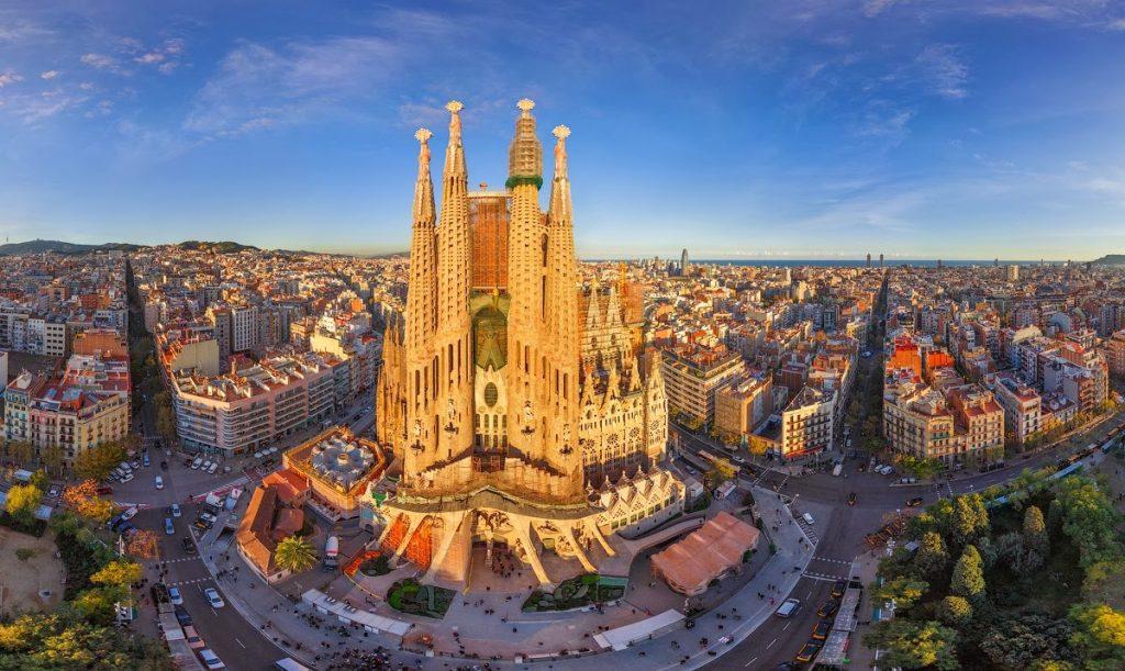 Tur de familie in Spania