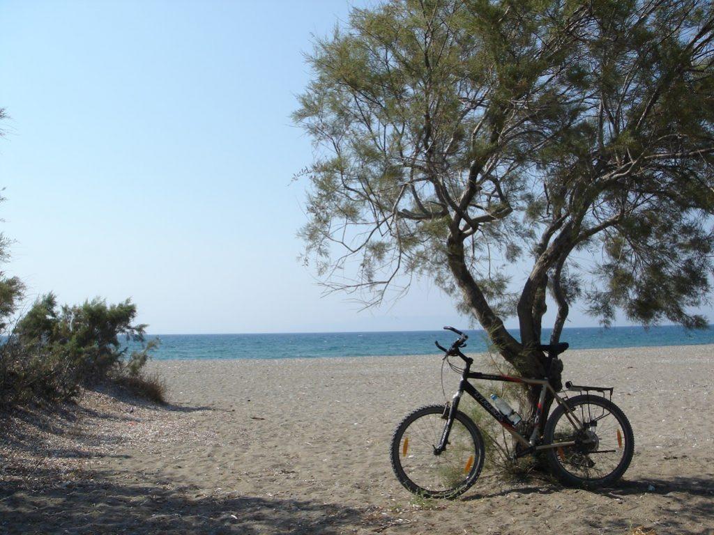 Ciclism pe insula Rhodos
