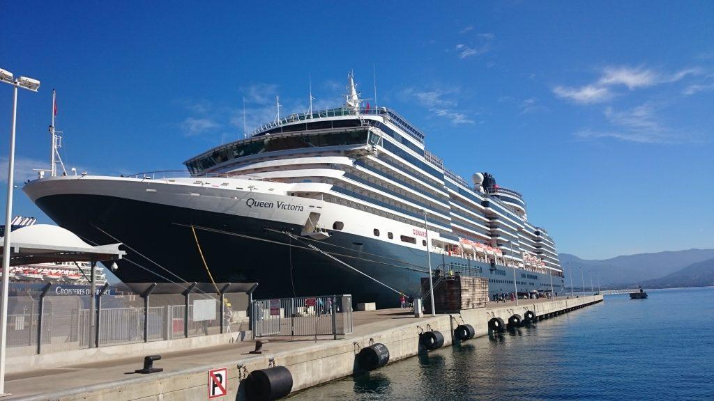 Queen Victoria: Mediterana de Est