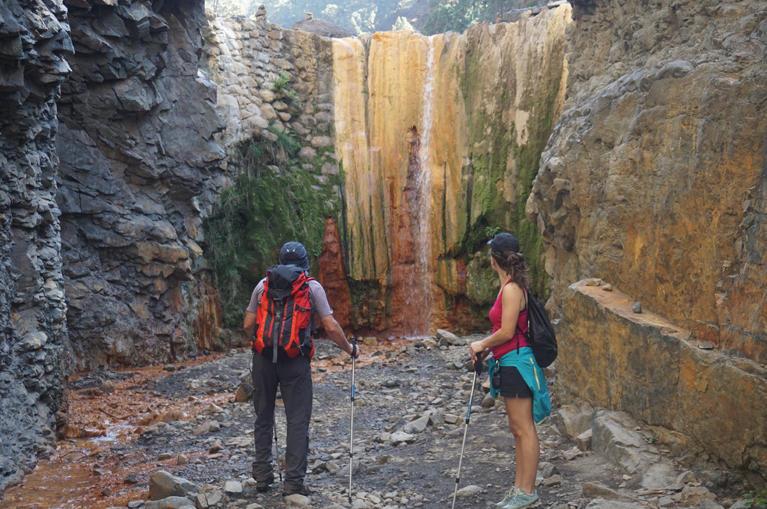 Program de drumetii in La Palma, Insulele Canare