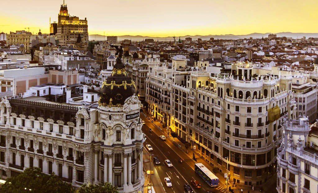 Revelion 2018 in Madrid