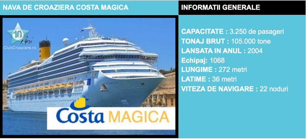 COSTA MAGICA : MAREA BALTICA | de la €449 / persoana
