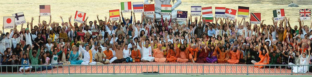 Festival international de Yoga in India!