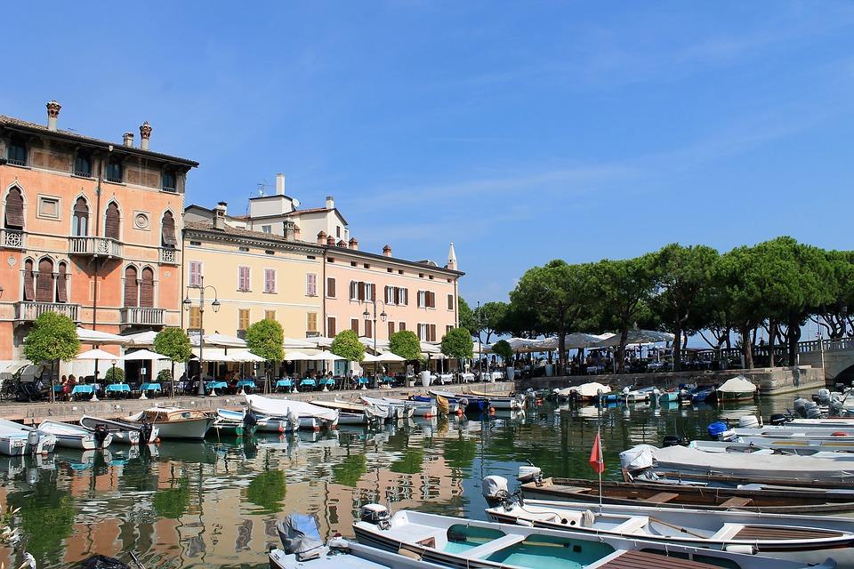 Traseu cu bicicleta Lacul Garda Italia