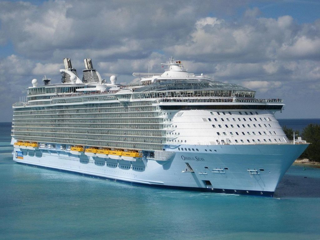 Craciun in Caraibele de Vest pe vasul Oasis of the Seas