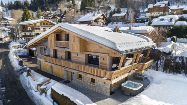 CHALET LAMARTINE  - Rock & Chic in Megève