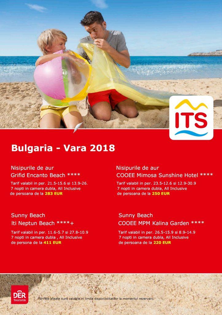 Oferte Bulgaria - Vara 2018