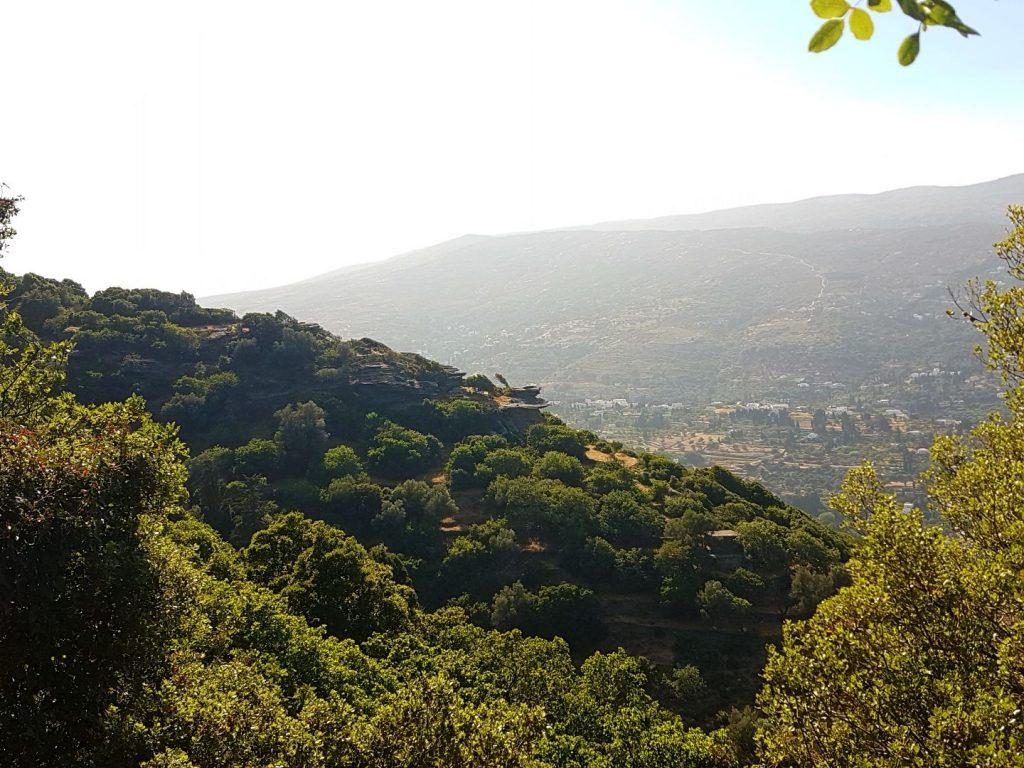 Drumetii in insula Andros