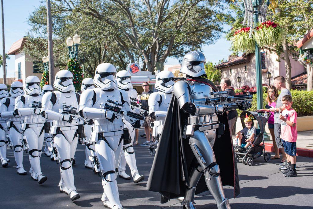 Sarbatoarea Starwars la Disneyland Paris