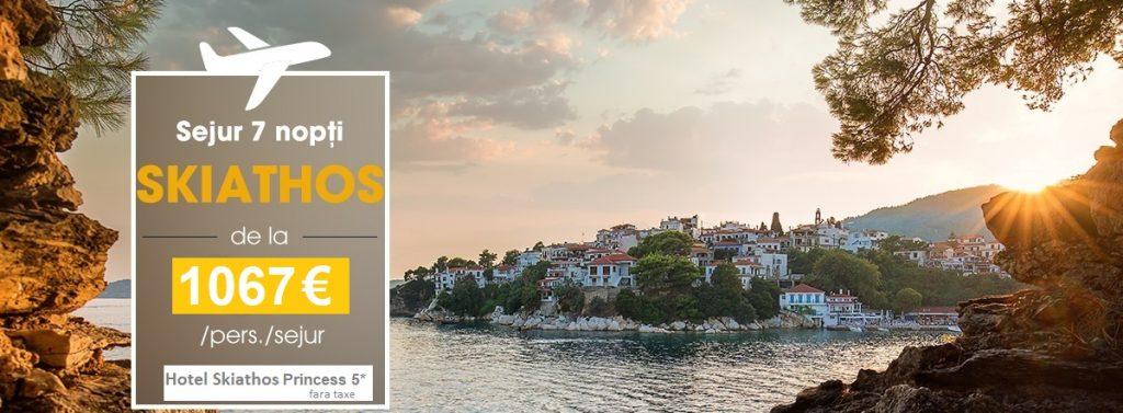 Insula Skiathos isi deschide portile pentru turisti!