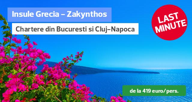 Zakynthos - Oferte Last Minute pentru luna august: de la doar 419 euro/pachet complet