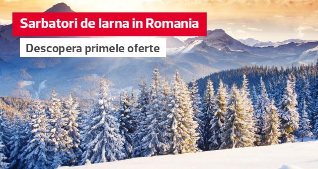 Sarbatori de Iarna in Romania: Descopera primele oferte pentru Craciun si Revelion!