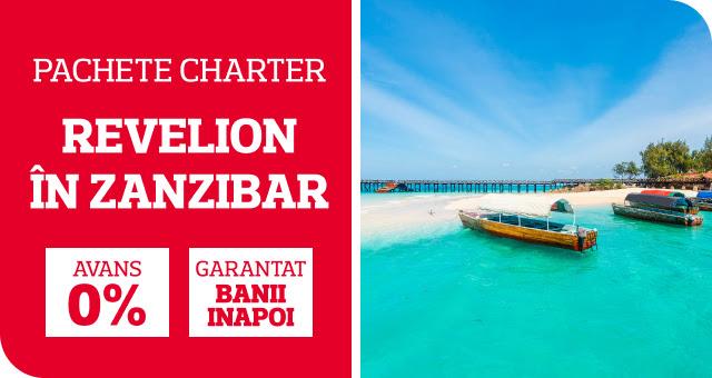 Revelion in Zanzibar: 0 avans si garantat banii inapoi! Escapada ta exotica incepand cu doar 1299 euro/pers!