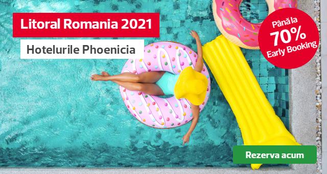 Litoral Romania 2021: -70% reducere pentru hotelurile Phoenicia
