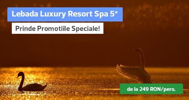 Delta Dunarii: Lebada Luxury Resort Spa 5* - Promotii Speciale