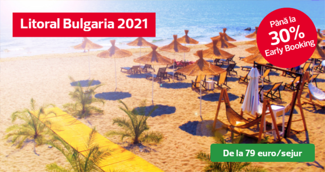 Litoral Bulgaria 2021 Oferte Early Booking pana la -30%