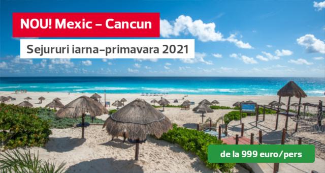 Mexic - Cancun: pachete complete incepand cu doar 999 euro/pers