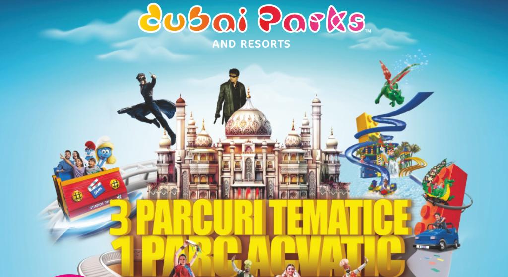 Dubai Parks and Resorts - bilete de acces la tarife speciale