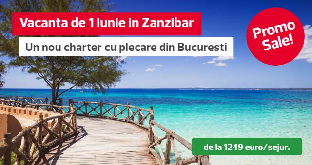 Zanzibar: charter vacanta de 1 iunie