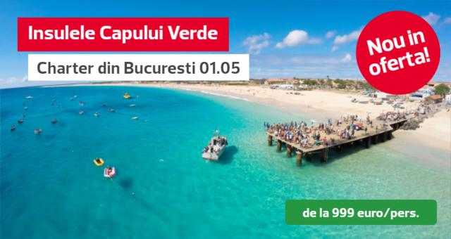 Insulele Capului Verde - Charter din Bucuresti