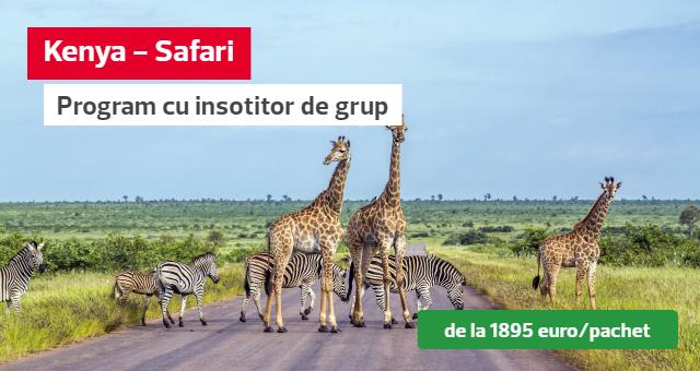 Kenya: Safari & Plaja la Oceanul Indian