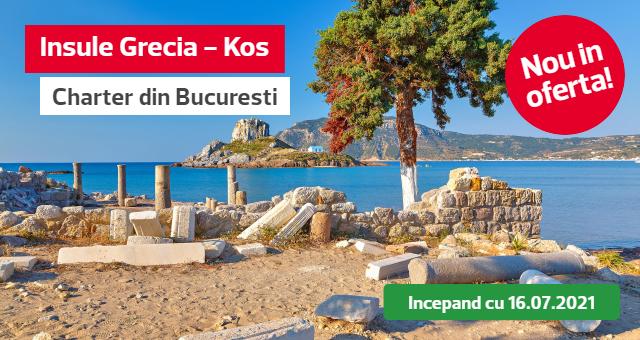 Insula Kos - charter din Bucuresti