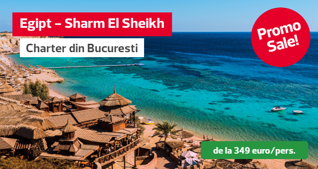 Promo Sale - Sharm el Sheikh, charter din Bucuresti
