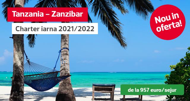 Vacanta de iarna 2021-2022 in Zanzibar cu zbor charter